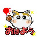 みーこ5(デカ文字)(個別スタンプ:01)