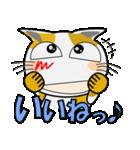 みーこ5(デカ文字)(個別スタンプ:05)