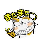 みーこ5(デカ文字)(個別スタンプ:13)