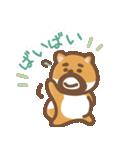 にほんの柴犬@ドロボーひげ(個別スタンプ:03)