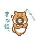 にほんの柴犬@ドロボーひげ(個別スタンプ:25)
