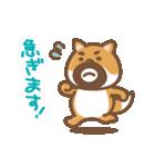 にほんの柴犬@ドロボーひげ(個別スタンプ:27)