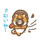にほんの柴犬@ドロボーひげ(個別スタンプ:36)