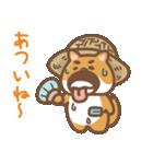 にほんの柴犬@ドロボーひげ(個別スタンプ:37)