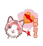 バレンタインデイ〜ふわふわのラグドール(個別スタンプ:03)