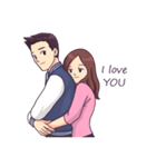 You & I : Intimate(個別スタンプ:11)