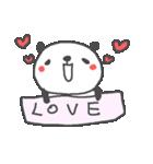 バレンタインデー英語ぱんだValentine'sDay(個別スタンプ:08)
