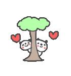 バレンタインデー英語ぱんだValentine'sDay(個別スタンプ:32)