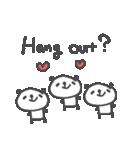 バレンタインデー英語ぱんだValentine'sDay(個別スタンプ:33)