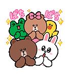 ぷにかわ★LINEキャラクターズ(個別スタンプ:09)