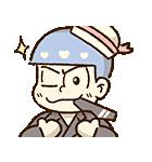動く♪おそ松さん×サンリオキャラクターズ(個別スタンプ:02)