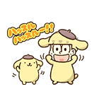 動く♪おそ松さん×サンリオキャラクターズ(個別スタンプ:05)