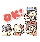 動く♪おそ松さん×サンリオキャラクターズ(個別スタンプ:08)