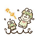 動く♪おそ松さん×サンリオキャラクターズ(個別スタンプ:09)