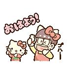 動く♪おそ松さん×サンリオキャラクターズ(個別スタンプ:12)