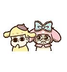動く♪おそ松さん×サンリオキャラクターズ(個別スタンプ:19)