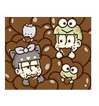 動く♪おそ松さん×サンリオキャラクターズ(個別スタンプ:21)