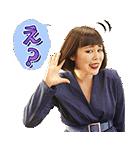 ブルゾンちえみ with B ボイススタンプ(個別スタンプ:16)