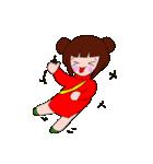 旗袍娘(チーパオむすめ)(個別スタンプ:35)