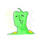 グリーンペッパーマン☆意識高き自宅警備員(個別スタンプ:30)