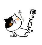 猫便り10 ~無責任な人 2〜(個別スタンプ:10)