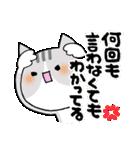 猫便り10 ~無責任な人 2〜(個別スタンプ:23)