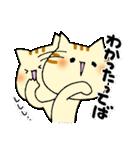 猫便り10 ~無責任な人 2〜(個別スタンプ:24)