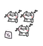 <よ>のつく名前基本セット「Yo」 cute cat(個別スタンプ:33)