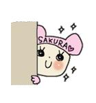 ♡さくら♡スタンプ(個別スタンプ:01)