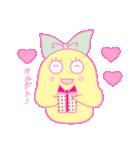 恋するオトメ♥ティッティ(個別スタンプ:18)