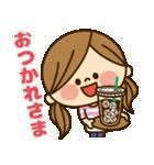 かわいい主婦の1日【イベントハッピー編】(個別スタンプ:06)