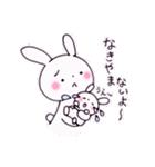 子育てウサギ(ママ編)(個別スタンプ:5)