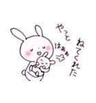 子育てウサギ(ママ編)(個別スタンプ:9)