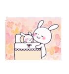 子育てウサギ(ママ編)(個別スタンプ:12)