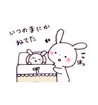 子育てウサギ(ママ編)(個別スタンプ:13)