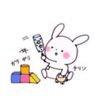 子育てウサギ(ママ編)(個別スタンプ:31)