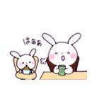子育てウサギ(ママ編)(個別スタンプ:33)