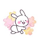 子育てウサギ(ママ編)(個別スタンプ:34)