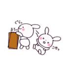 子育てウサギ(ママ編)(個別スタンプ:35)