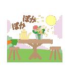 ちいさな森のカフェ✿春メニュー✿(個別スタンプ:11)