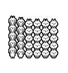 ちょこまか動く☆300匹うさぎ(個別スタンプ:17)