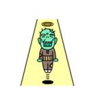 お墓ぐらしのゾンじいさん(個別スタンプ:35)