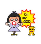 DOLLY DOLLY 6 (ENGLISH)(個別スタンプ:09)