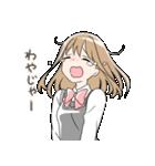 山口弁の女の子(個別スタンプ:03)