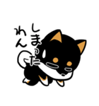 黒しばばん(個別スタンプ:11)