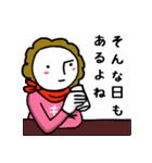 関西☆モジャヒロイン(個別スタンプ:25)