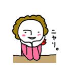 関西☆モジャヒロイン(個別スタンプ:32)