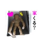 【実写】進撃のデッサン人形(個別スタンプ:03)