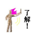 【実写】進撃のデッサン人形(個別スタンプ:27)