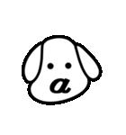 動く!ギリシャ文字の顔文字 [動物ver](個別スタンプ:01)